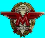 MATCHLESS - OIL TANK - TRANSFER - 1962 TO 1965 - D50801